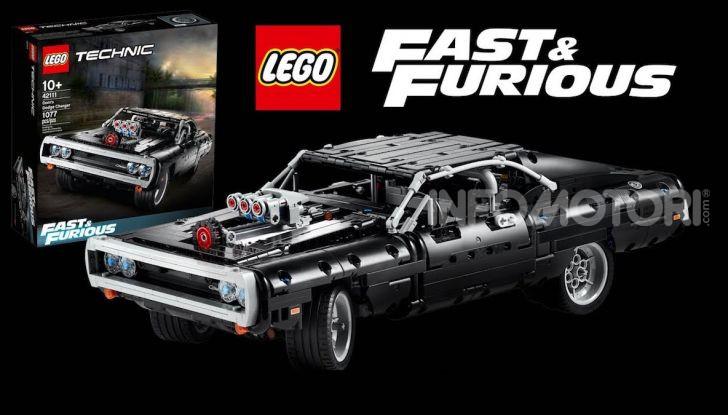 Dodge Charger Fast & Furious Lego Technic: mattoncini e potenza! - Foto 7 di 8