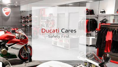 Ducati Cares, un programma per tornare nelle concessionarie in piena sicurezza