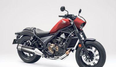 Honda Rebel 1100: la giapponese che sfida le custom americane