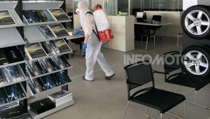 Come lavorare ed andare in Concessionaria dopo il Coronavirus - Foto 1 di 19