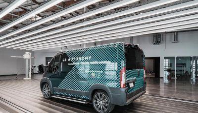 Karma E-Flex L4: furgone elettrico a guida autonoma per sconfiggere il Covid-19