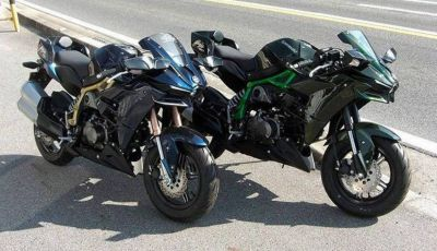 Dal Giappone il kit per trasformare una Kawasaki Z 125 Pro in una Ninja H2