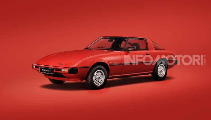 Mazda RX-7: dal 1978 sinonimo di gioia di guidare e leggerezza - Foto 6 di 6