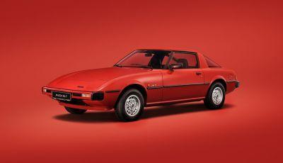 Mazda RX-7: dal 1978 sinonimo di gioia di guidare e leggerezza