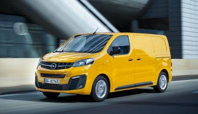 Opel Vivaro-e: il van elettrico con grande autonomia e capacità di carico