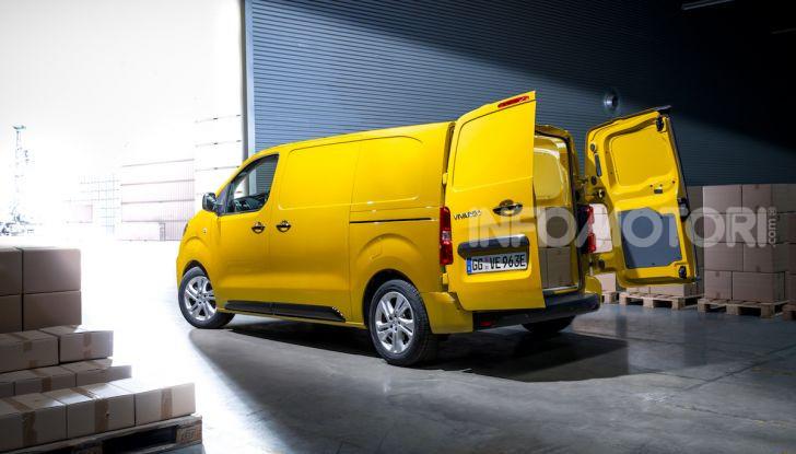 Opel Vivaro-e: il van elettrico con grande autonomia e capacità di carico - Foto 7 di 14