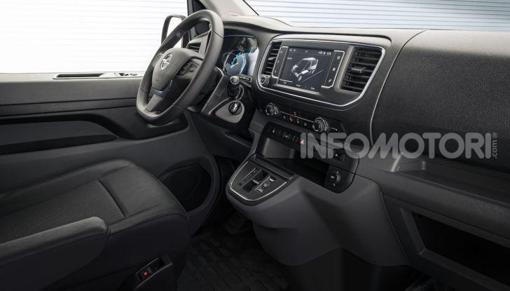 Opel Vivaro-e: il van elettrico con grande autonomia e capacità di carico - Foto 9 di 14