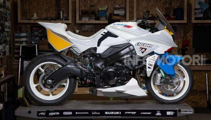 Suzuki Katana Brand New Jack by Icon: un po' moto un po' manga - Foto 7 di 7