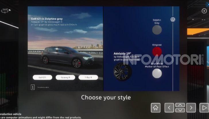 Addio tradizioni: Volkswagen lancia il primo salone dell'auto virtuale - Foto 4 di 10