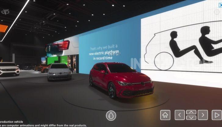 Addio tradizioni: Volkswagen lancia il primo salone dell'auto virtuale - Foto 8 di 10