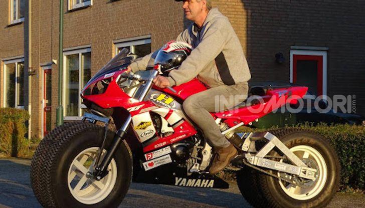 Una Yamaha R1 per raggiungere il Polo Nord - Foto 2 di 4