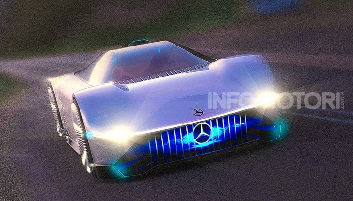 AMG EVision elettriche 2020