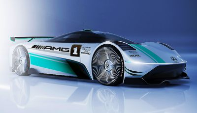 AMG EVision elettriche: il futuro della Stella tedesca