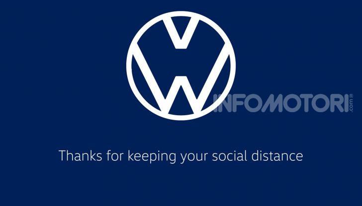 Coronavirus Logo Volkswagen