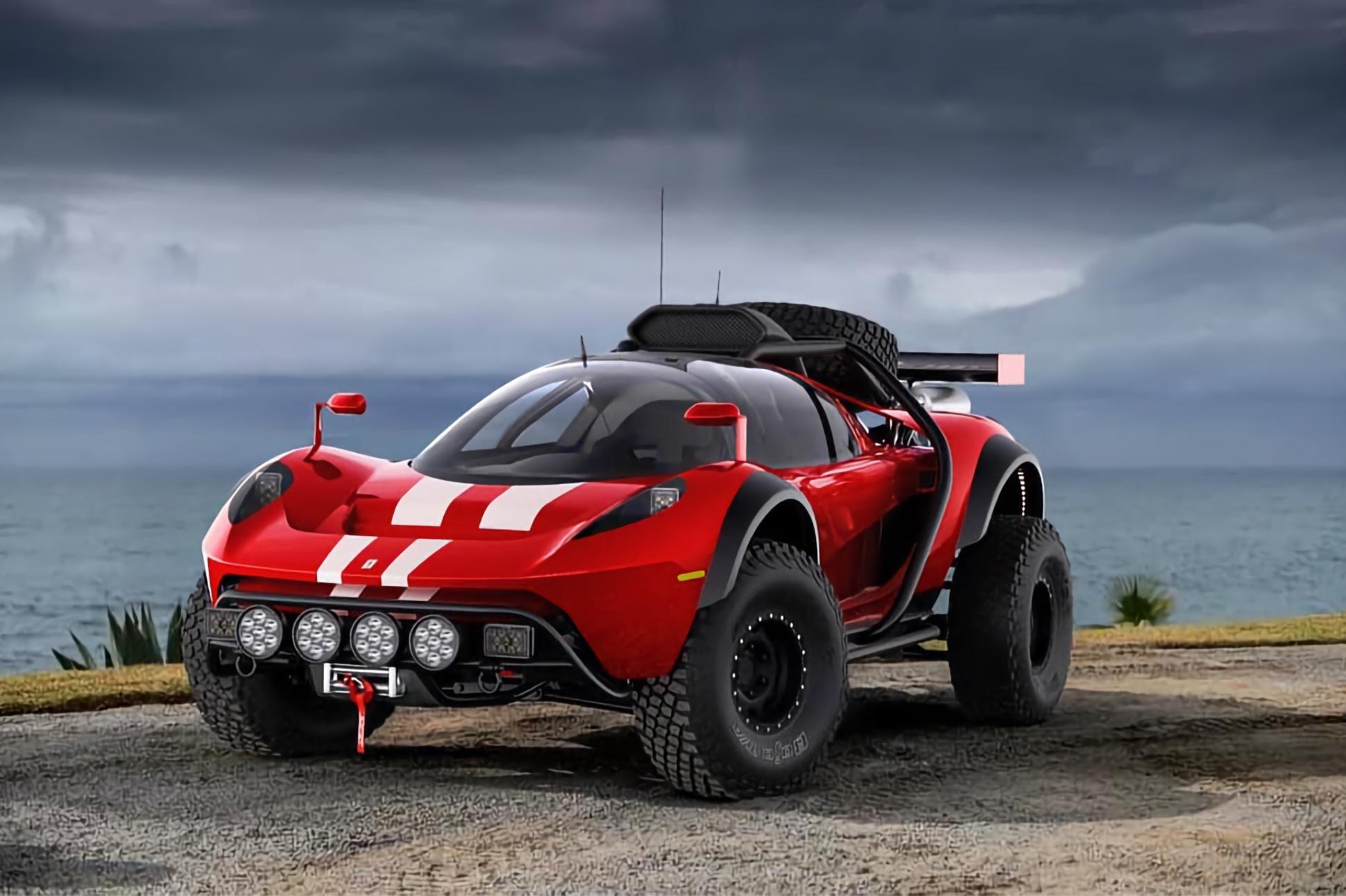 SCG 004, la Dune Buggy omologata per i rally da costruire in garage! - Infomotori