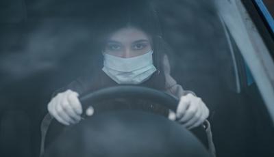 Mascherina in auto: quando e dove usarla