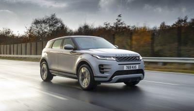 Range Rover Evoque e Land Rover Discovery Sport ora anche in versione ibrida plug-in