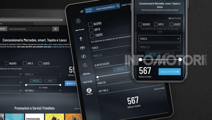 Trivellato.it si ispira a Booking, Amazon e Facebook per il suo e-commerce auto molto social - Foto 6 di 11
