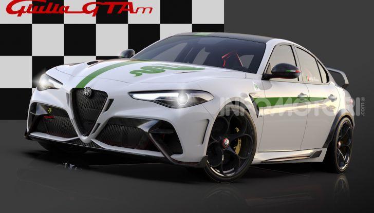 Nuova Alfa Romeo Giulia GTA: un bolide su misura - Foto 3 di 8