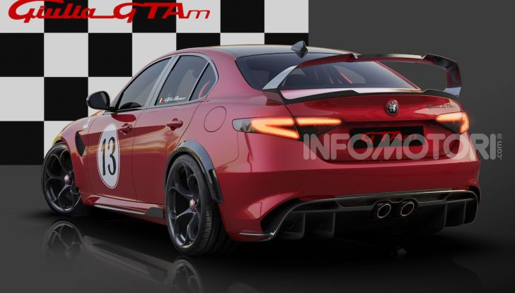 Nuova Alfa Romeo Giulia GTA: un bolide su misura - Foto 7 di 8