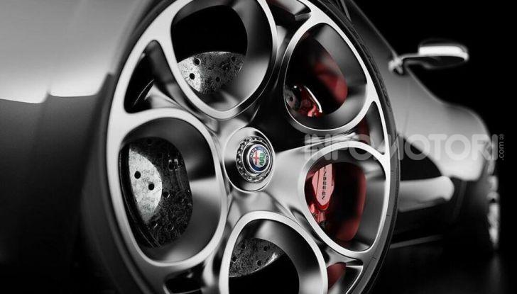 Alfa Romeo Barchetta del futuro, rendering e dettagli - Foto 7 di 7