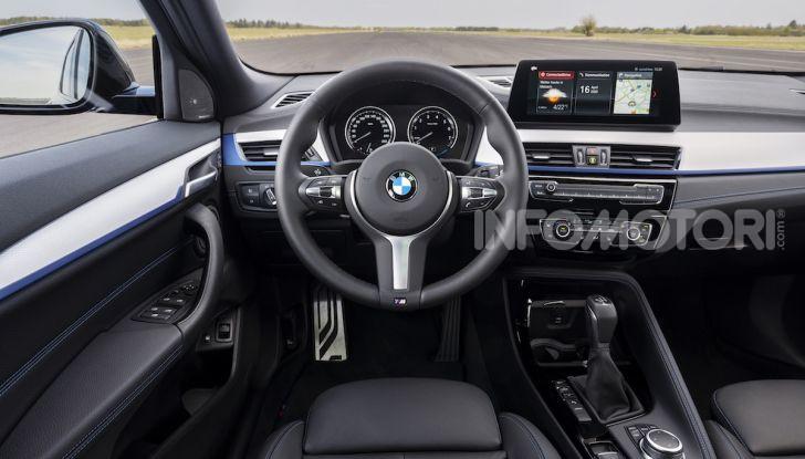 BMW X2 xDrive 25e: la prima Sports Activity Coupé con motore ibrido plug-in - Foto 10 di 34