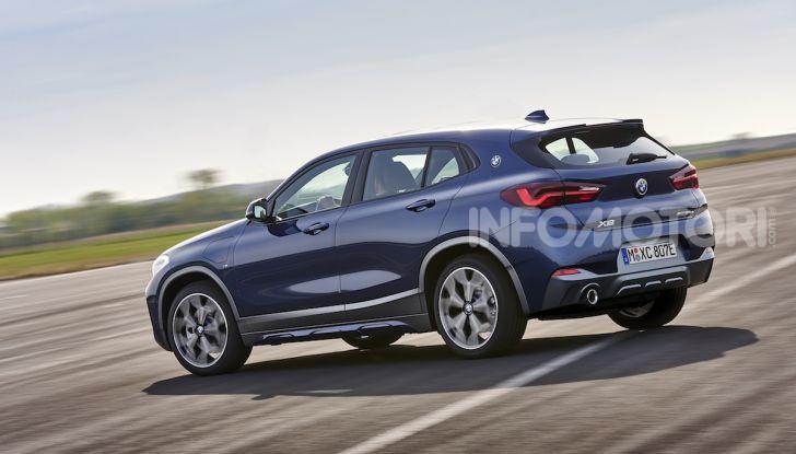 BMW X2 xDrive 25e: la prima Sports Activity Coupé con motore ibrido plug-in - Foto 11 di 34