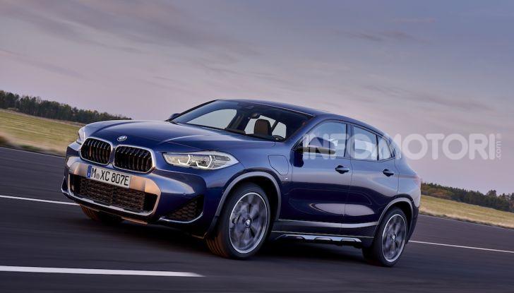 BMW X2 xDrive 25e: la prima Sports Activity Coupé con motore ibrido plug-in - Foto 14 di 34