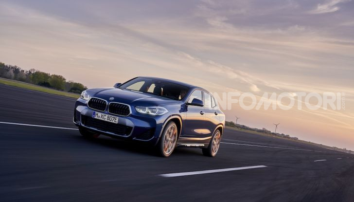 BMW X2 xDrive 25e: la prima Sports Activity Coupé con motore ibrido plug-in - Foto 15 di 34