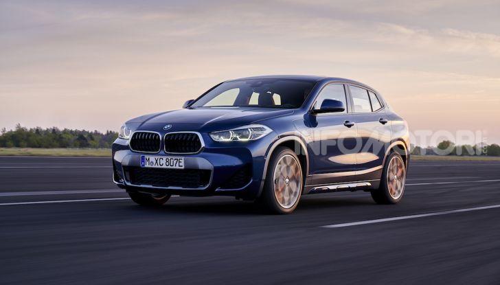 BMW X2 xDrive 25e: la prima Sports Activity Coupé con motore ibrido plug-in - Foto 16 di 34