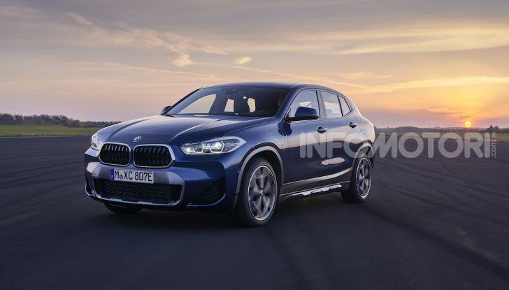 BMW X2 xDrive 25e: la prima Sports Activity Coupé con motore ibrido plug-in - Foto 17 di 34