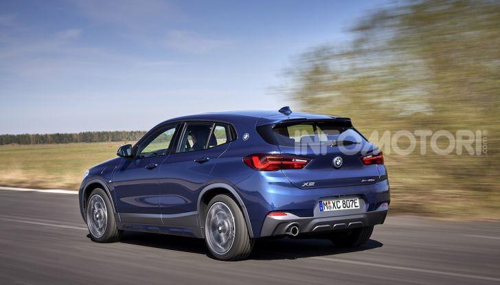 BMW X2 xDrive 25e: la prima Sports Activity Coupé con motore ibrido plug-in - Foto 18 di 34