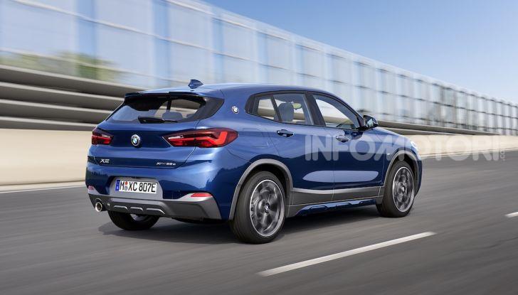 BMW X2 xDrive 25e: la prima Sports Activity Coupé con motore ibrido plug-in - Foto 2 di 34