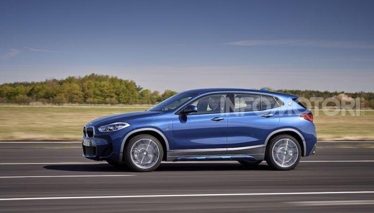 BMW X2 xDrive 25e: la prima Sports Activity Coupé con motore ibrido plug-in - Foto 20 di 34
