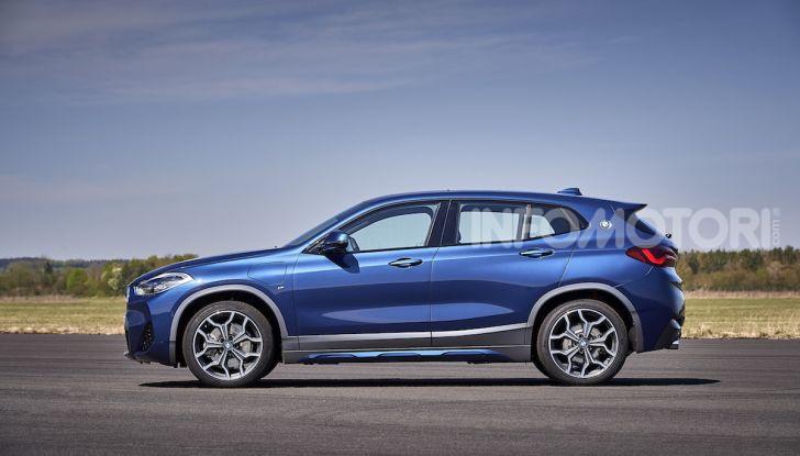 BMW X2 xDrive 25e: la prima Sports Activity Coupé con motore ibrido plug-in - Foto 24 di 34