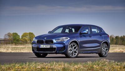 BMW X2 xDrive 25e: la prima Sports Activity Coupé con motore ibrido plug-in