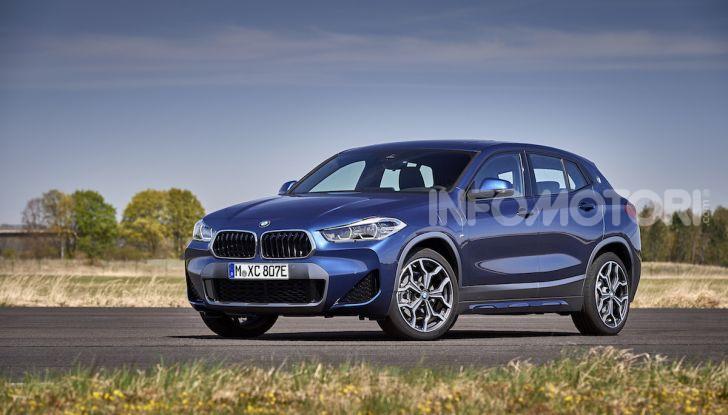 BMW X2 xDrive 25e: la prima Sports Activity Coupé con motore ibrido plug-in - Foto 25 di 34