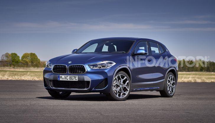 BMW X2 xDrive 25e: la prima Sports Activity Coupé con motore ibrido plug-in - Foto 26 di 34