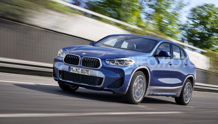 BMW X2 xDrive 25e: la prima Sports Activity Coupé con motore ibrido plug-in - Foto 3 di 34