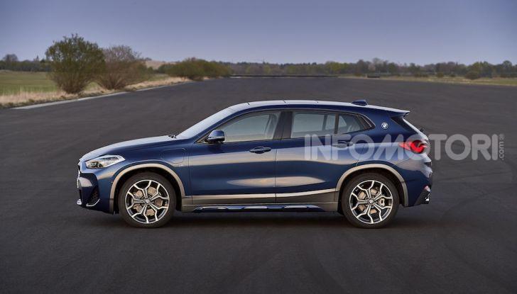 BMW X2 xDrive 25e: la prima Sports Activity Coupé con motore ibrido plug-in - Foto 31 di 34