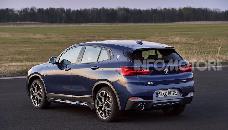 BMW X2 xDrive 25e: la prima Sports Activity Coupé con motore ibrido plug-in - Foto 32 di 34