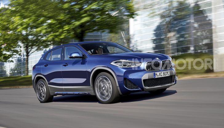 BMW X2 xDrive 25e: la prima Sports Activity Coupé con motore ibrido plug-in - Foto 4 di 34