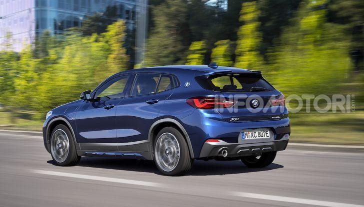 BMW X2 xDrive 25e: la prima Sports Activity Coupé con motore ibrido plug-in - Foto 5 di 34
