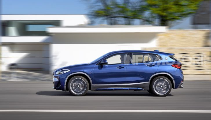 BMW X2 xDrive 25e: la prima Sports Activity Coupé con motore ibrido plug-in - Foto 6 di 34
