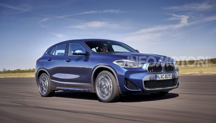 BMW X2 xDrive 25e: la prima Sports Activity Coupé con motore ibrido plug-in - Foto 7 di 34