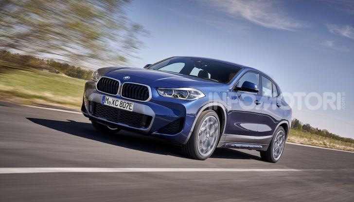 BMW X2 xDrive 25e: la prima Sports Activity Coupé con motore ibrido plug-in - Foto 8 di 34