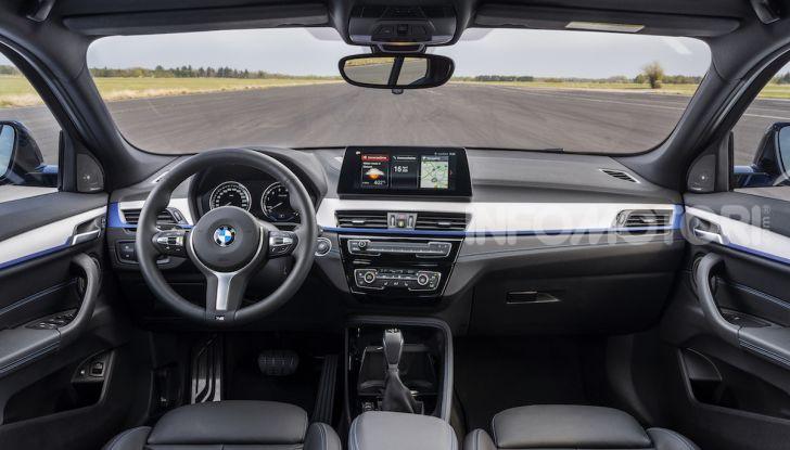 BMW X2 xDrive 25e: la prima Sports Activity Coupé con motore ibrido plug-in - Foto 9 di 34