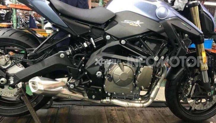 SRK 600: la nuova media a quattro cilindri di Benelli - Foto 3 di 3