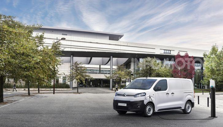 Citroen e-Jumpy: tanto spazio e zero emissioni per il nuovo van elettrico francese - Foto 4 di 5