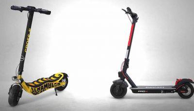 Ducati: in arrivo e-bike pieghevoli e monopattini elettrici